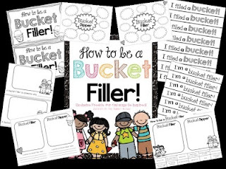 Creating a Bucket Filling Classroom! Check out this anchor chart lesson and related bucket filling freebies!