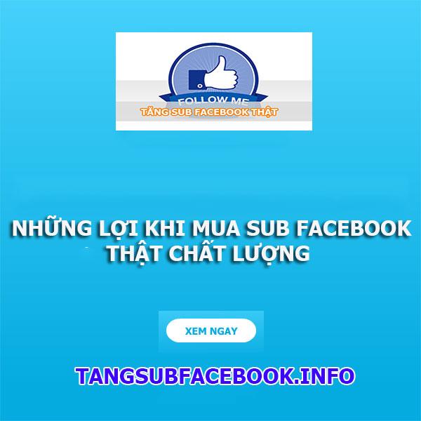mua sub facebook
