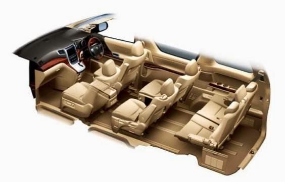 2015 Toyota Alphard Redesign Concept