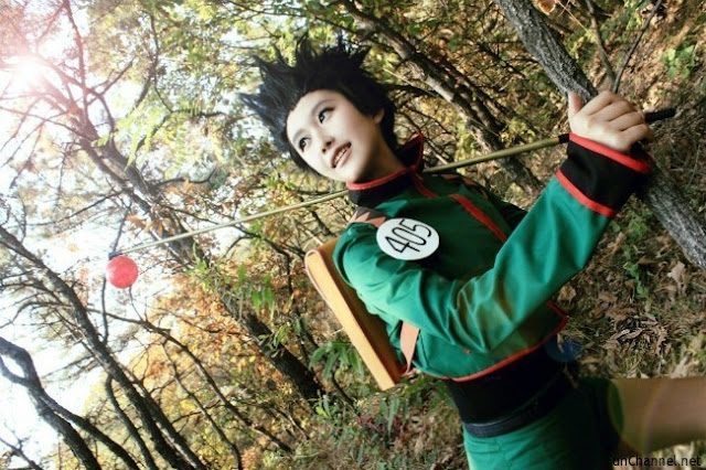 cosplay hunter x hunter gon freecss