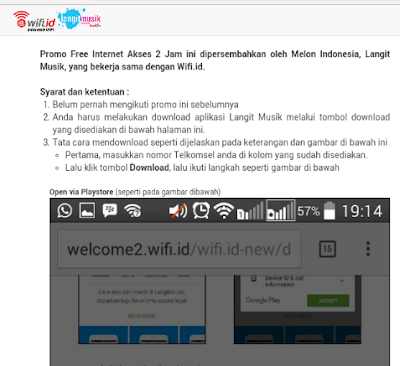 Tips Login Gratis ke @wifi.id di Android