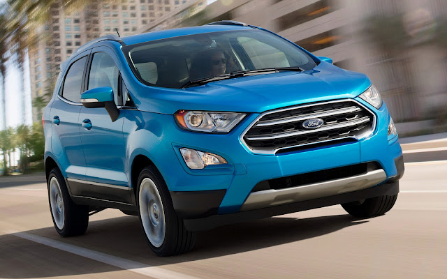 Ford EcoSport facelift crossover hd wallpaper