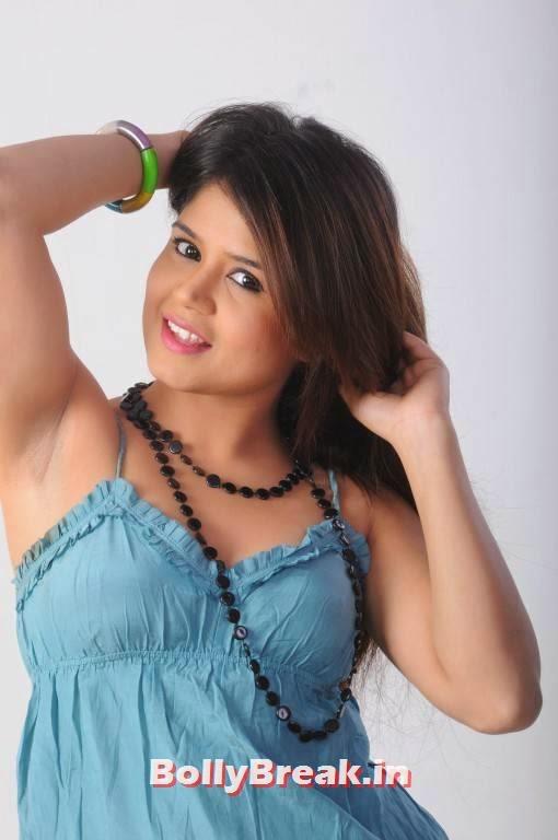 , Ranjana Mishra in Orange Shorts, Green Top - Hd Photos