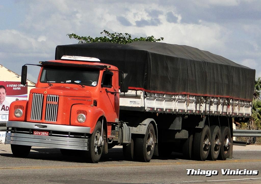 Caminh U00f5es Brasil E Cia  Scania 111s
