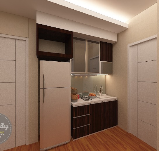Desain Interior Kitchen Set Manis