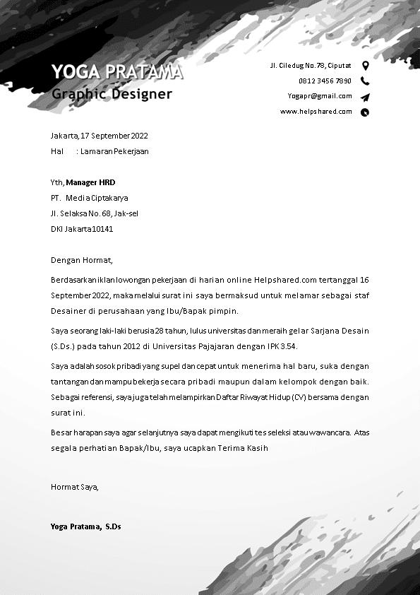 Kop Surat Lamaran Kerja 13
