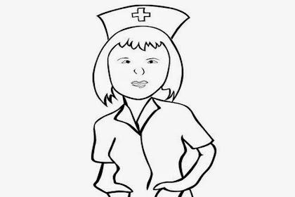 Mewarnai Gambar Perawat