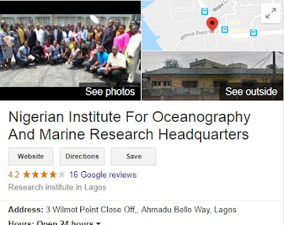 Nigerian Institute for Oceanography and Marine Research Recruitment Login 2018 | Fill NIOMR Form Here