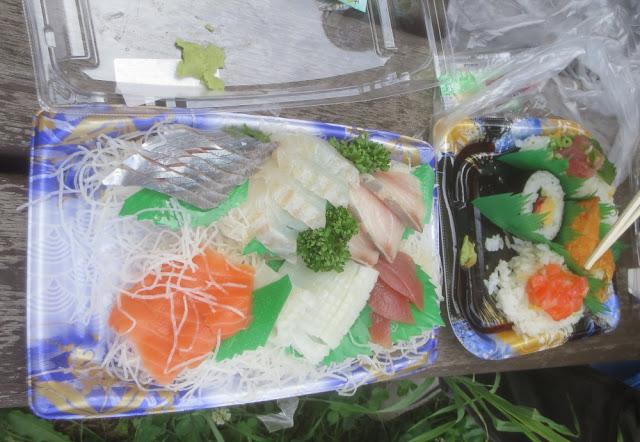 Kushiro - Sashimi und Sushi