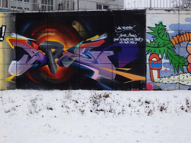 Graffiti - akurat uważam, że to jest bardzo ładne!