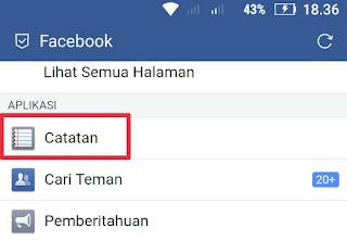 Cara Menghapus Catatan Di Facebook