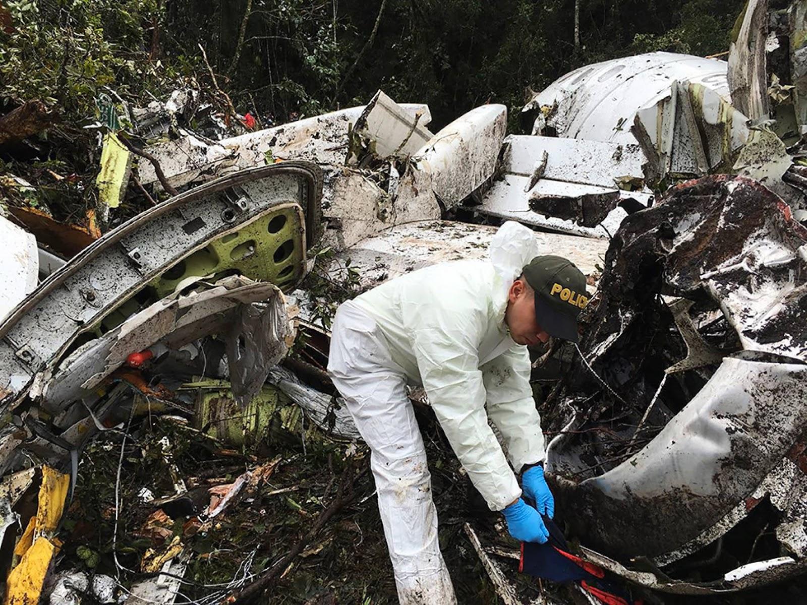Colombia activó operativos de rescate en la serranía aquel 28 de noviembre de 2016 / POLICÍA NACIONAL COLOMBIA