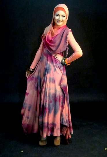 Gambar Baju Muslim Dian Pelangi Modern