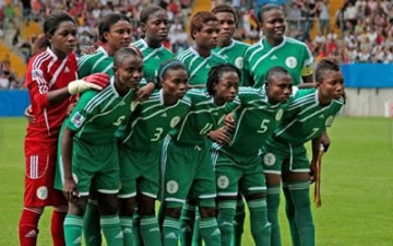 Nigeria Super Falcons players