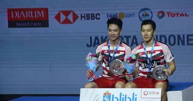 Dua Gelar Juara Indonesia Open Setelah 1 Dekade