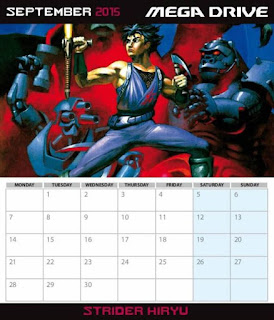 Sunteam: Calendario Sega Mega Drive 2015