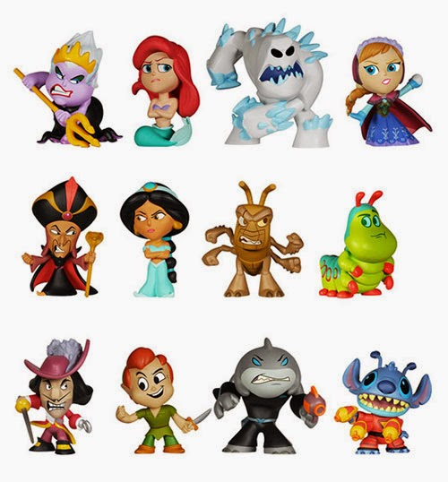 Disney Heroes Vs. Villains Mystery Minis From Funko