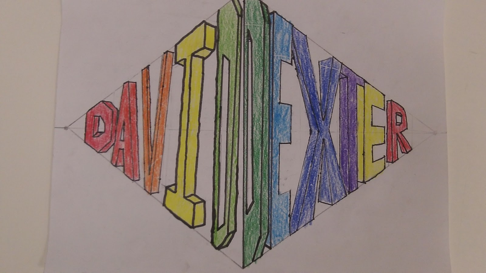 David Art 1 2 Point Perspective Name