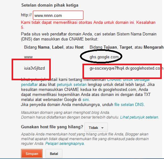 Cara Mengganti Domain Blogspot Gratis Menjadi Com Net Dari Codot Com