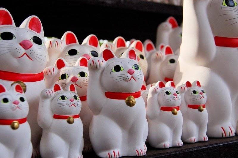 Gotokuji, el templo de los gatos de cerámica | Japón