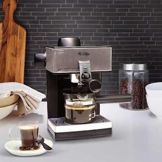 máquina de cafe expresso a vapor