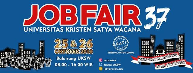 Job Fair Universitas Kristen Satya Wacana (UKSW) 2018