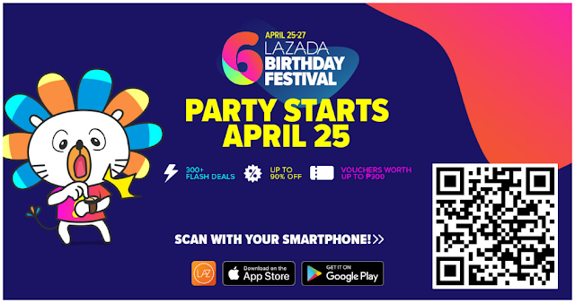 Lazada Birthday Sale 2018 - Lazada Birthday Sale Flash Schedule