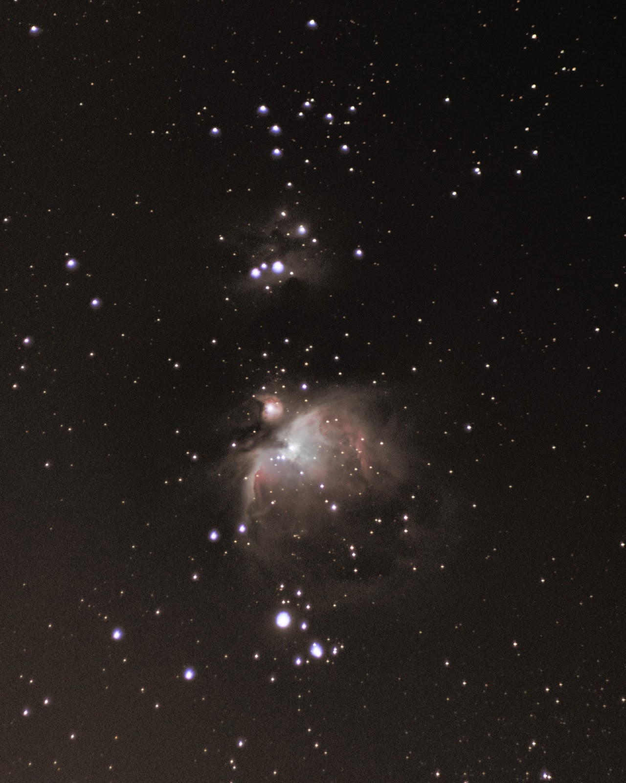 orion nebula m42 with canon t5i 300mm