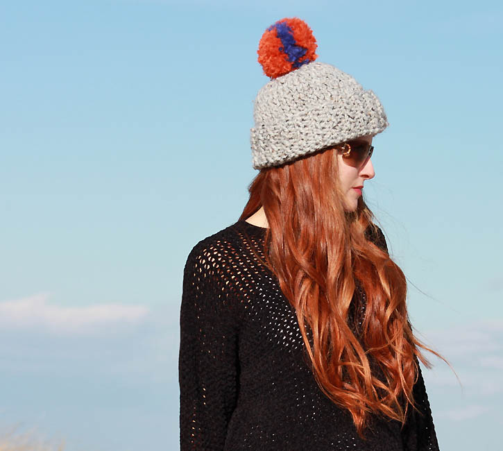 Eugenia Kim Rain Beanie [knitting pattern] - Gina Michele