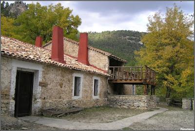 El albergue de Tejadillos antes del incendio de 2006