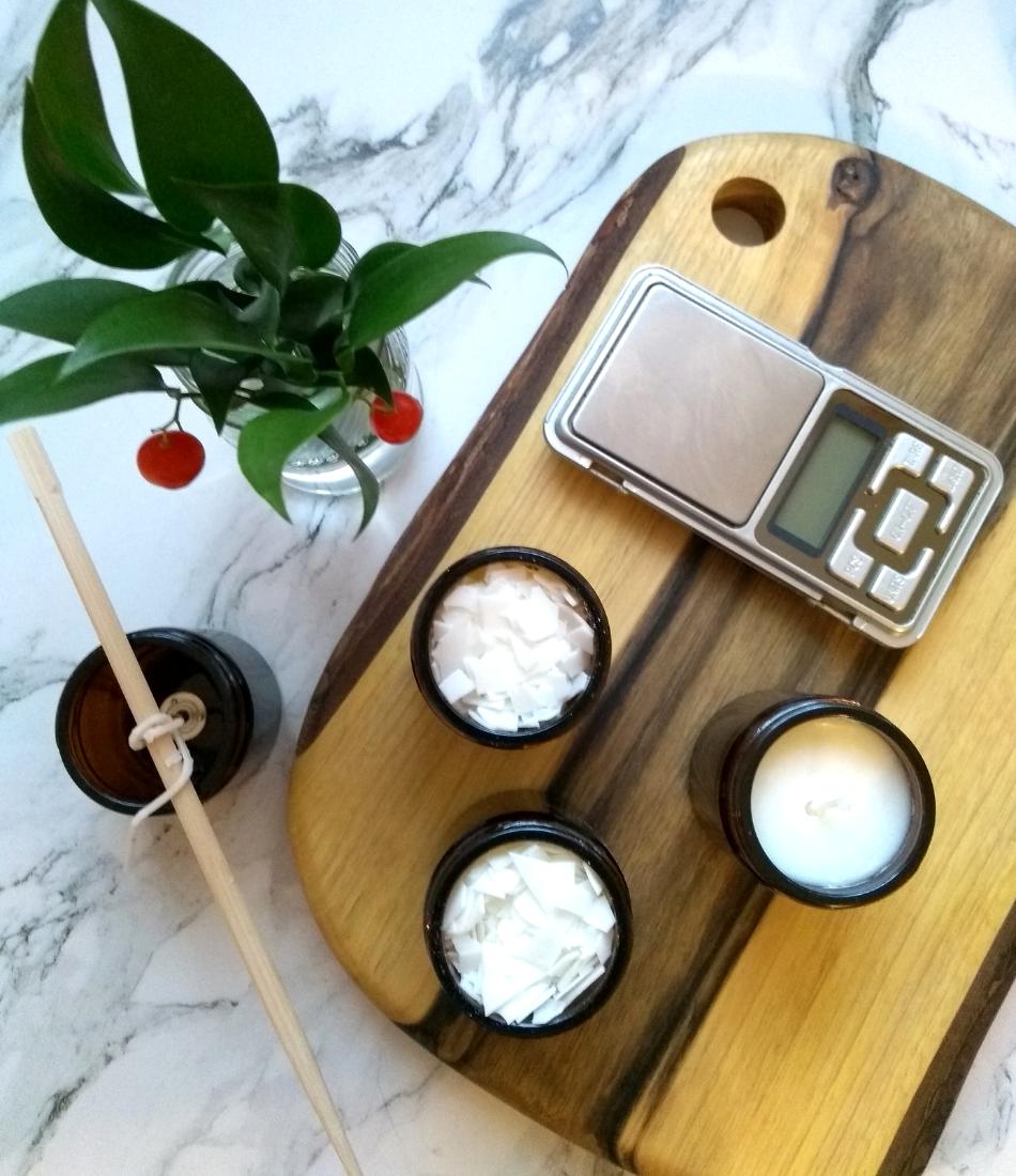 DIY świece zapachowe sojowe