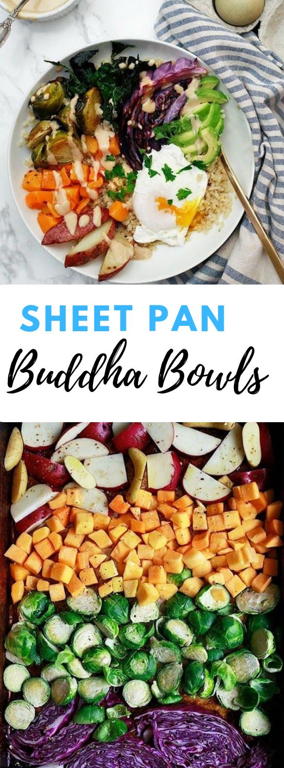 SHEET PAN BUDDHA BOWLS  #healthydiet #delicious