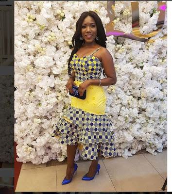 15 OF THE MOST BEAUTIFUL SHORT ANKARA STYLES FOR CURVY LADIES
