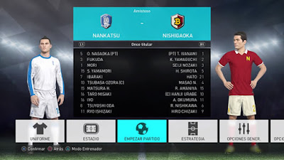 PES 2018 PS4 Captain Tsubasa Option File by Qasdew