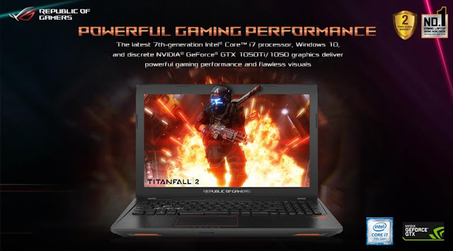 ASUS ROG Launches Strix GL753 and GL553 Gaming Laptops