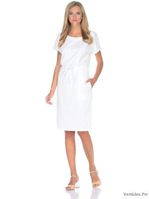99 Ideas de Vestidos Blancos para Ti ¡Propuestas con Fotografías Y ... daa93b2643aa