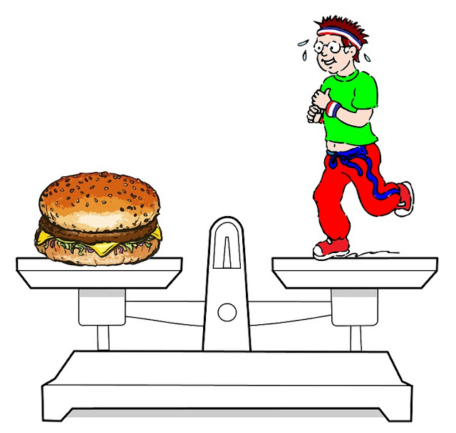 Balance Diet Exercise