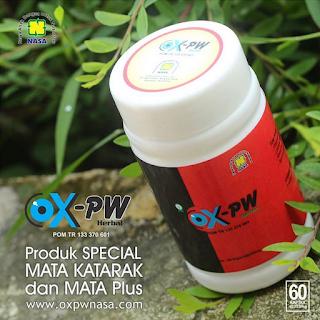 OX-PW Herbal dari Nasa Cepat Mengobati Mata Katarak & Plus Minus