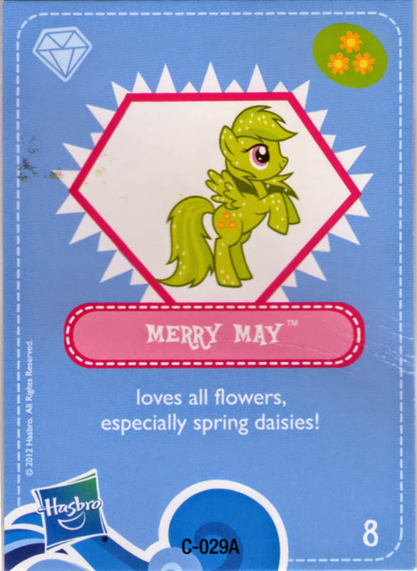 Mlp Merry May Blind Bag Cards Mlp Merch