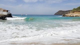 Green beach at Tarrafal