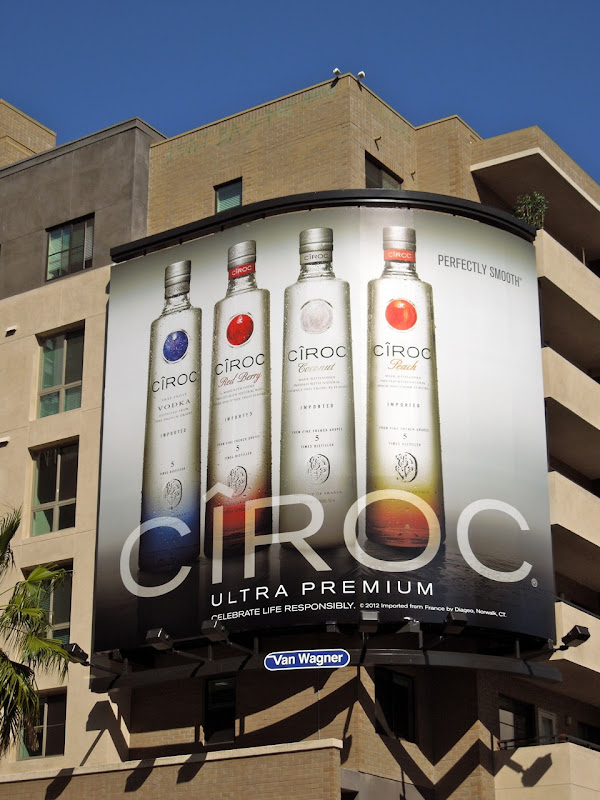 Ciroc Premium Vodka billboard