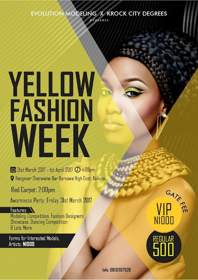 ALL TO KNOW ABOUT E-MODELING'S (YELLOW FASHION WEEK)