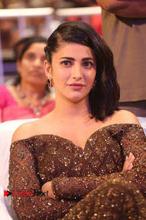 Actress Shruthi Hassan Pictures in Long Dress at Premam Movie Audio Launch  0110.JPG