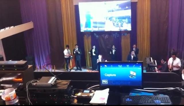Aplikasi presentasi proyektor