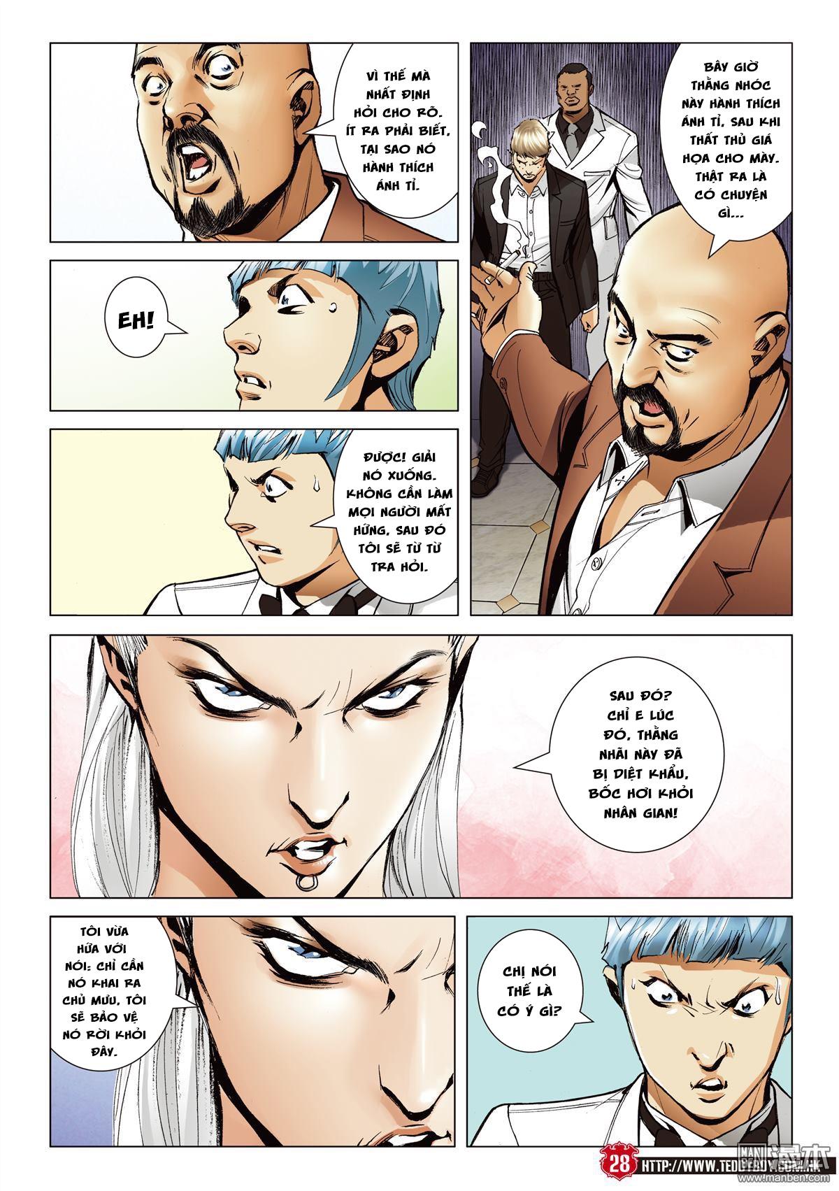 Người Trong Giang Hồ chapter 2067: ánh tỉ làm phản trang 25