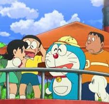gambar Doraemon petualangan