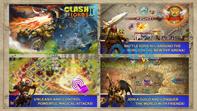 Game Clash of Lords 2 Terbaru Versi 1.0.205 Apk For Android