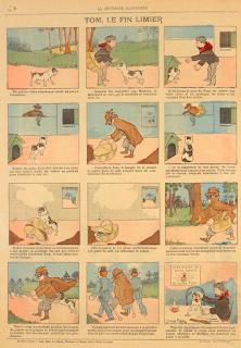 Tira original de Mauryce Motet em La Jeunesse Illustrée