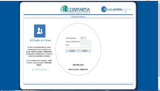 Certificado de Afiliación Comparta