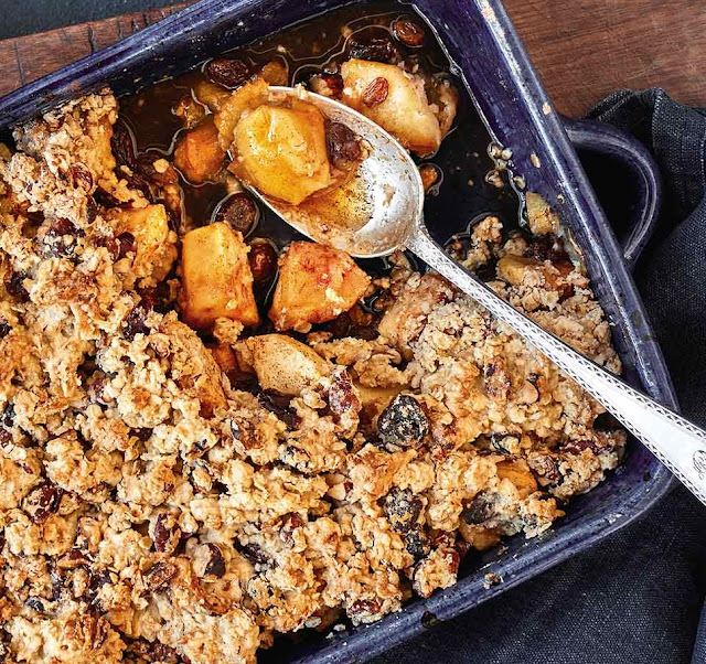 Free-From Apple Crumble Recipe